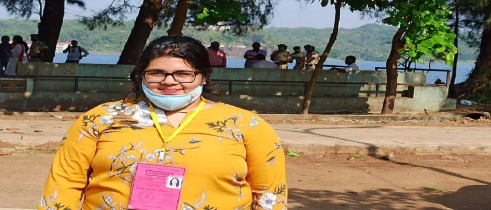 24 year old and youngest candidate to win Goa ZP polls this year