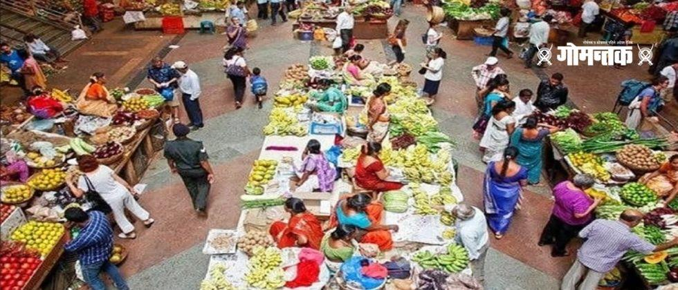 Panaji Market Goa Goa News Goa Breaking Marathi news Panaji Citizens