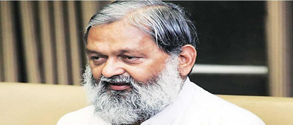 Haryana minister Anil Vij Issues statement on getting corona positive after taking covaxin dose