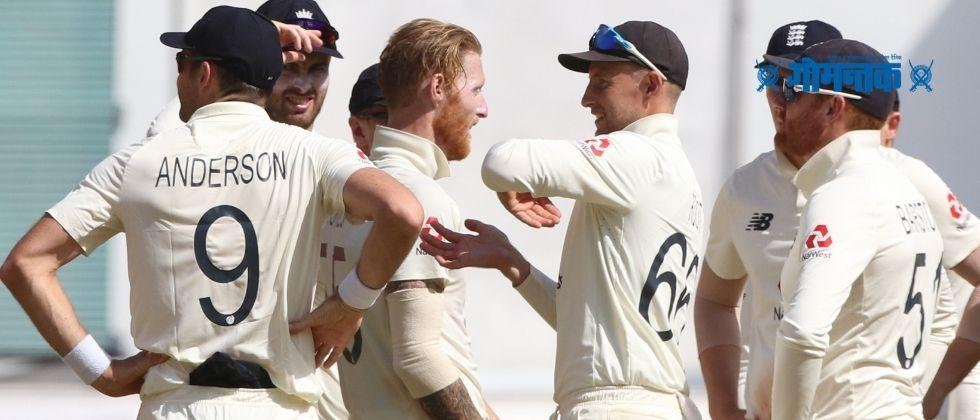 INDvsENG Big wicket for England Ben Stokes hits virat kohli wicket after yesterday verbal fight