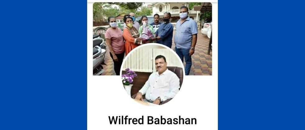 Fake page on Facebook in the name of MLA Wifred Dis