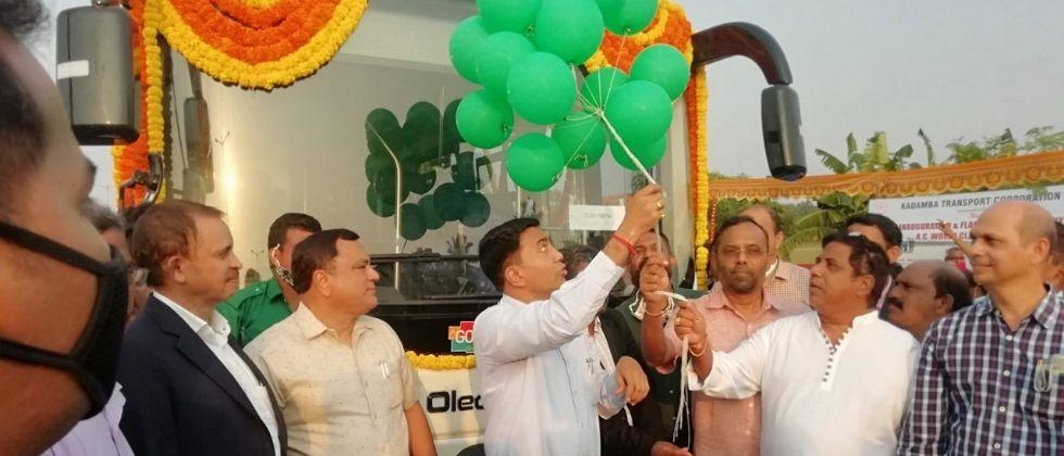 Goa Now electric buses to ply in the state