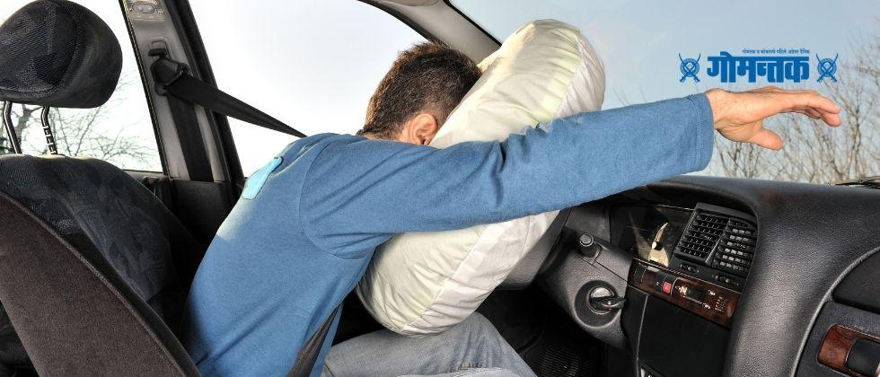 The government has approved the proposal of the Ministry of Transport to require airbags for the front seat of cars from April 1