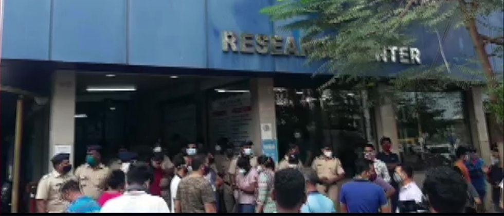 Virar Hospital Fire A fire broke out in the intensive care unit of Vijay Vallabh Hospital death 13 patients