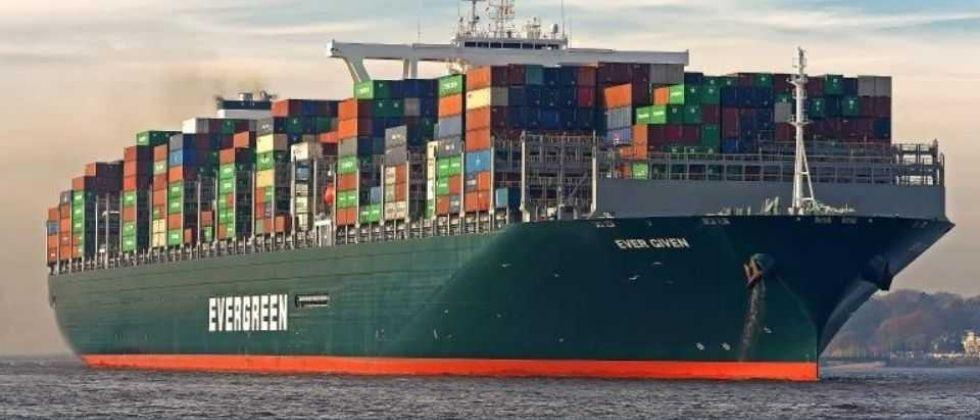 The container ship which had been stranded in the Suez Canal for six days set sail