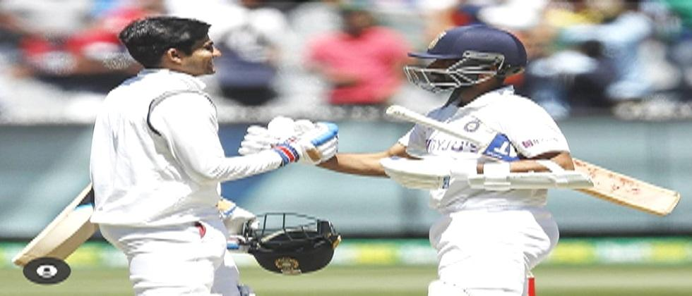 INDIAvsAUSTRALIA Team Indias historic win over Australia in the second test match Defeated Australia by 8 wickets