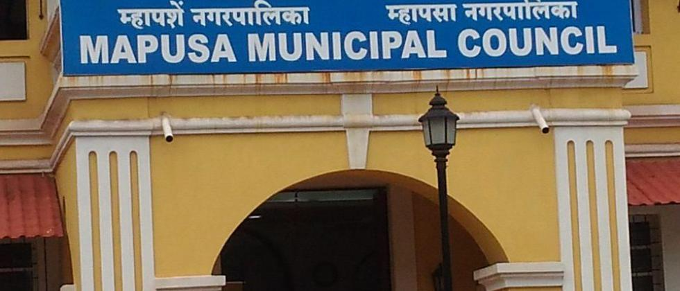 Gautam Pednekar demand to reduce number of Mapusa Municipal members
