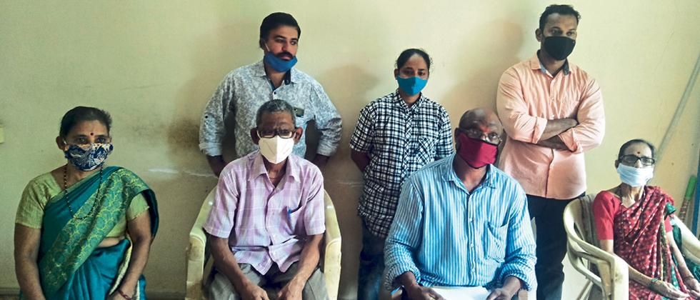 Goa: Rajan Ghate alleged illegal road construction in property of Physical challenged couple at Codli
