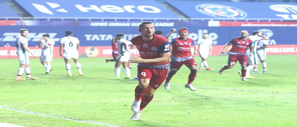 Jamshedpur FC beats ATK Mohun Bagan by 2-1 in yesterdays Indian Super League match played in Vasco