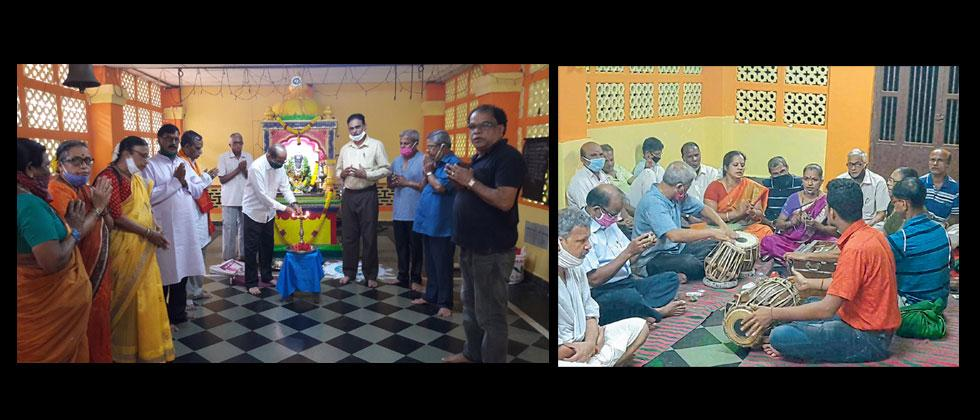 Saint Jagannath Borikar has started Bhajani Week to create cleanliness and harmony in the village.