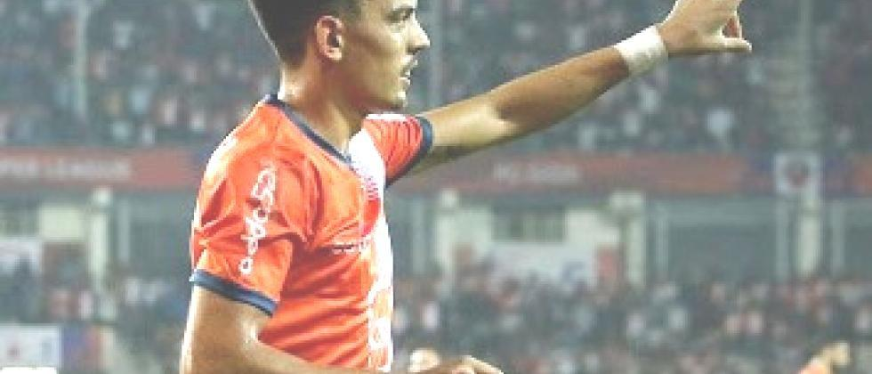 Edu Bedia is the captain of FC Goa team for upcoming tournaments 2020 - 21