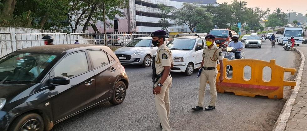Goa Police will inspect vehicles leaving the city