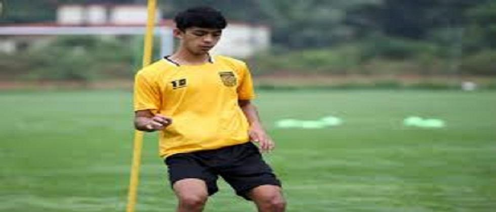 Talented young footballer Rohit Danu gets a chance to make his debut in Indian Super League football tournament in Goa this year