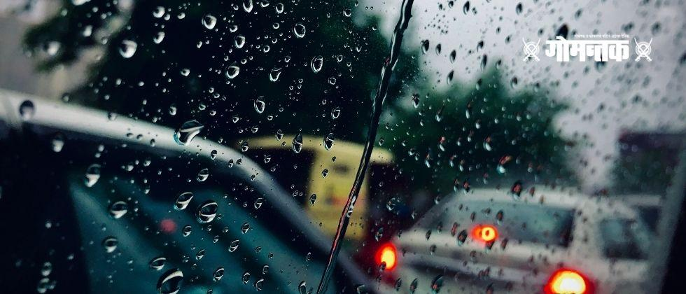 Presence of unseasonal rains in Delhi Indian Meteorological Department forecasted possibility of hail