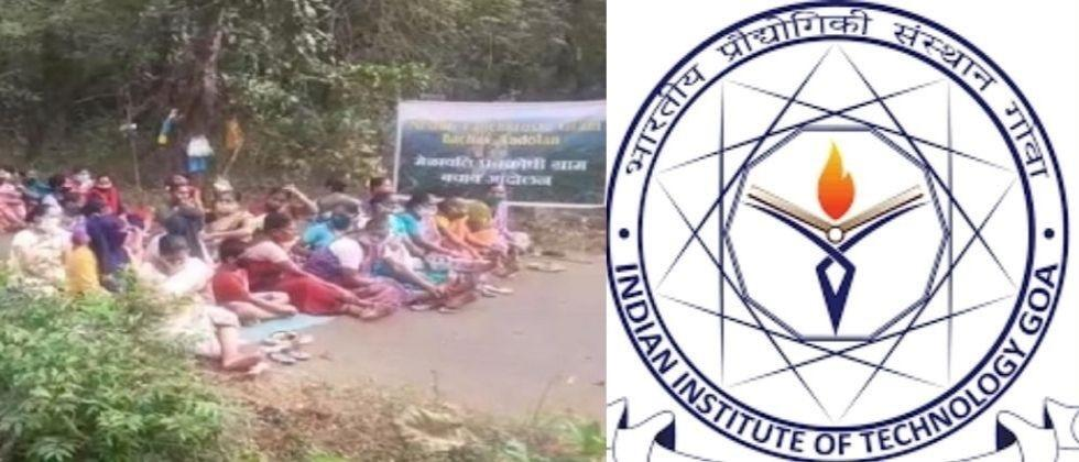 Villagers continue to oppose the IIT project in the sattari