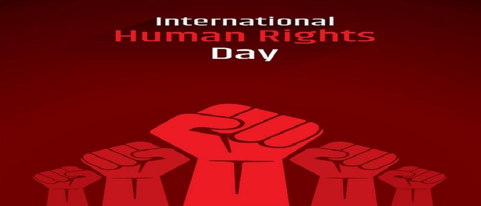 Today is Human Rights Day Human Rights are basic and natural rights of all the human beings