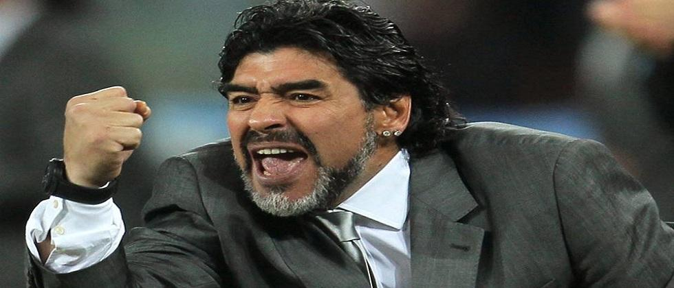 A statue of football player Diego Maradona to built up in Goa