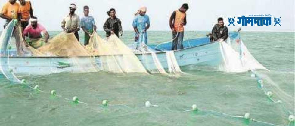 Increasing infiltration of foreign trawlers on the Sindhudurg coast Dhumakul in Sindhudurg