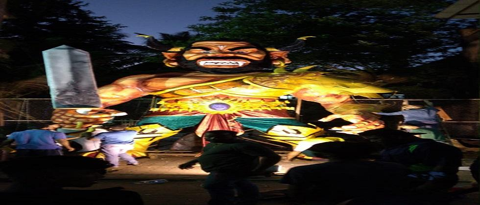 Politicians in Panaji economically backs Narakasur  dahan and processions by keeping an eye on the upcoming elections