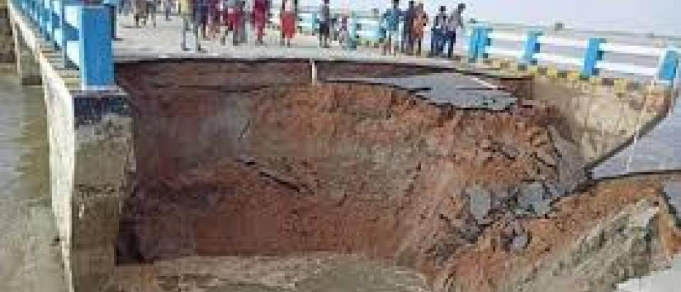 bridge collapsed in bihar