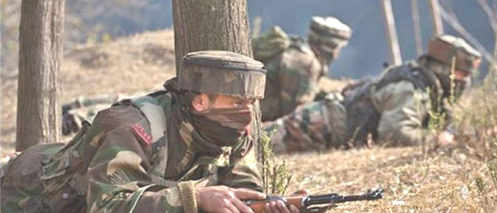 Five soldiers of killed during the firing after the violation of ceasefire by Pakistan