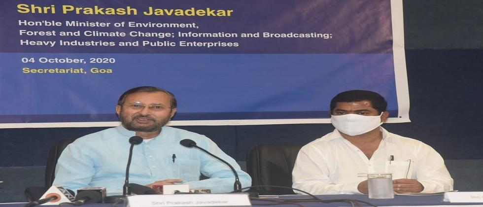 prakash javdekar attacked on opposition on the agriculture law, in goa yesterday