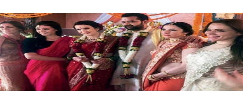 wife of famous television personality Rahul Mahajan converted to Hinduism