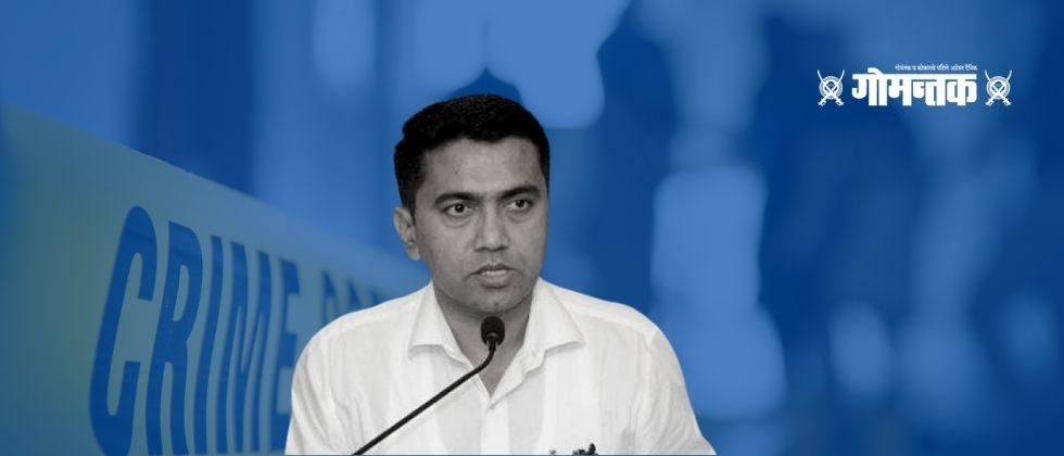 Goa CM Dr Pramod Sawant decides to outlawry Goons in Goa in next six months