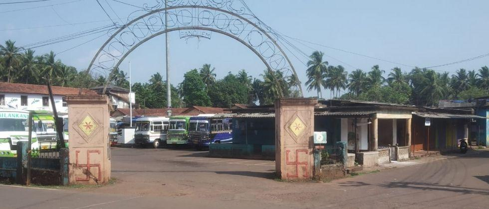 Goa Lockdown Sanguem market is closed from today