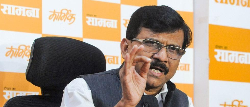 Today Shiv Sena spokesperson MP Sanjay Raut criticism BJP