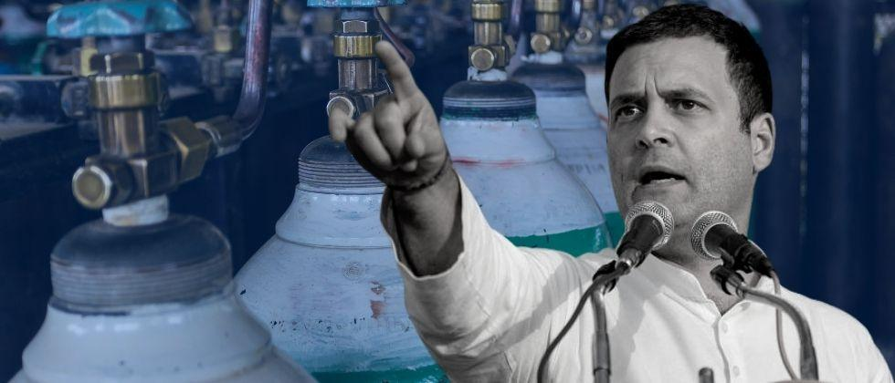 Oxygen Shortage 20 patients die at Jaipur Golden Hospital in Delhi The advice given by Rahul Gandhi to Central Government