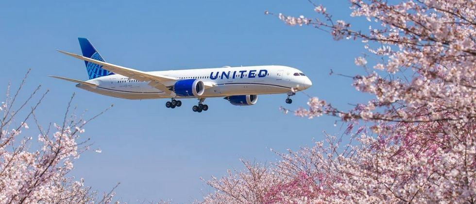 United Airlines flights start from tomorrow