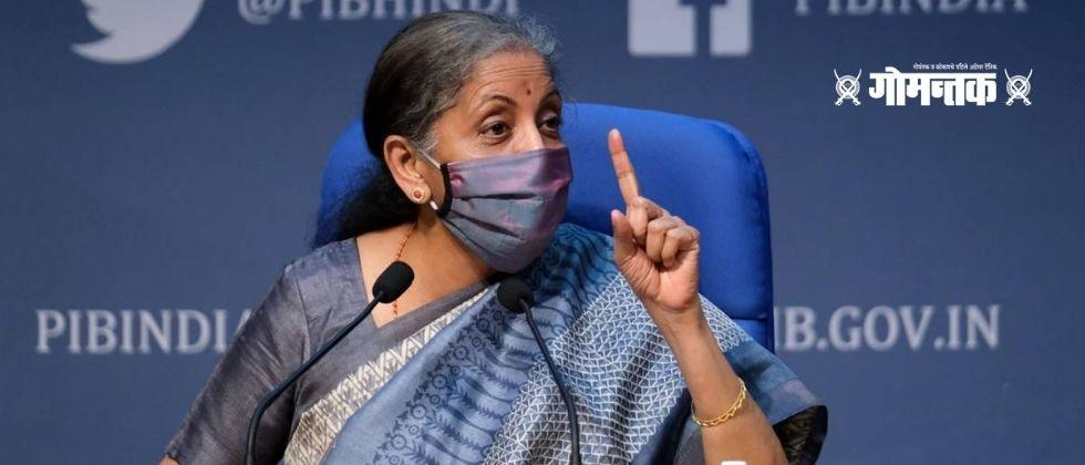 Union Budget 2021 Finance Minister Nirmala Sitharamans answer to the press conference went viral