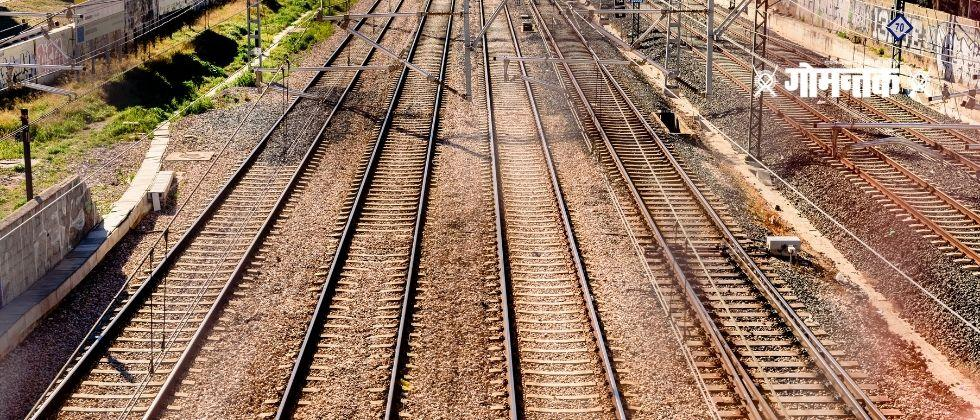 The woman slept under the train to save her life in Haryana