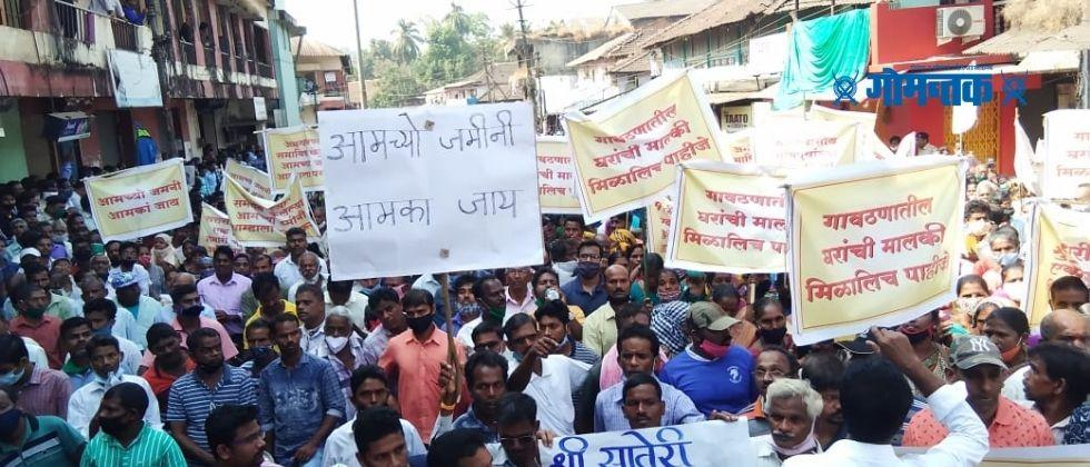 Republic Day 2021 Bhumiputras have rallied and warned the government in sattari