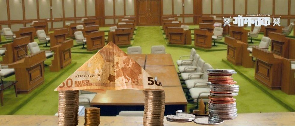 The Goa Legislative Assembly has seen financial irregularities in government accounts