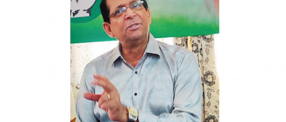 Congress should fight alone in next state elections says Francisco Sardinha