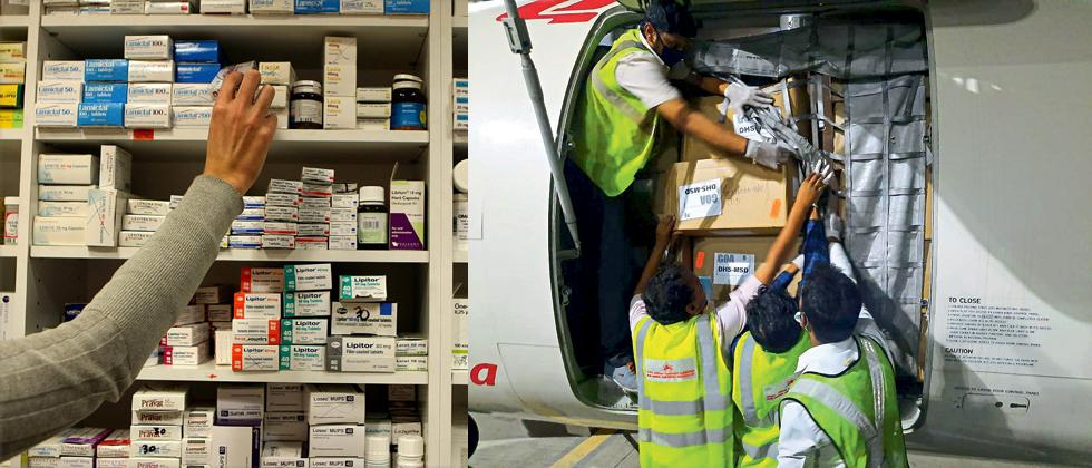 Now drug export directly from Dabolim Airport
