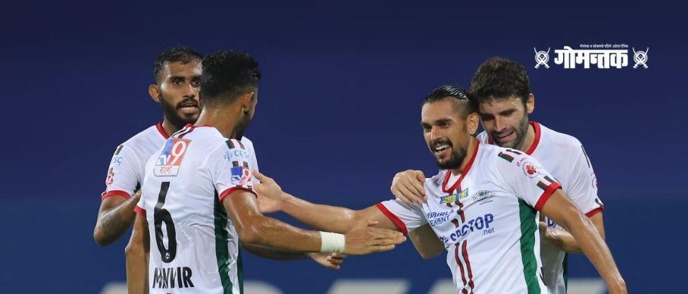 ISL 202021 With the help of Super Sub-Silla Northeast Injury time goal prevented ATK Mohan Bagan from equalizing