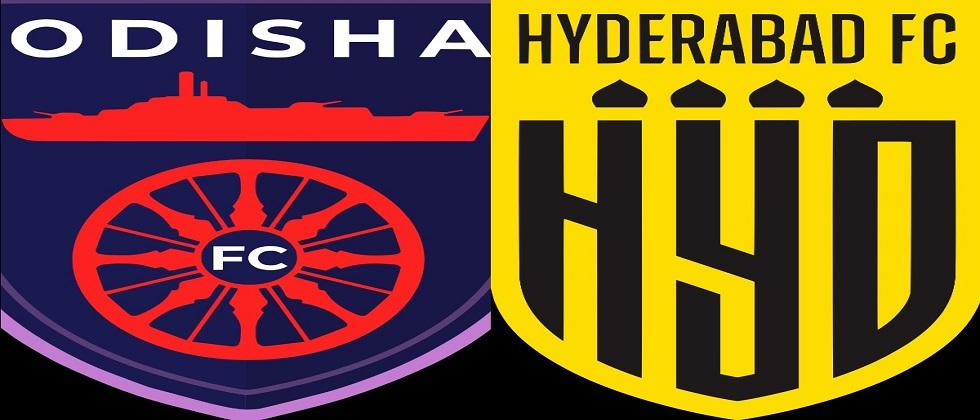 FC Hyderabad will try to beat FC Odisha in todays ISL match to be played in Bambolim