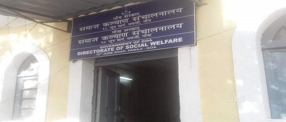 Social welfare department building in a bad condition