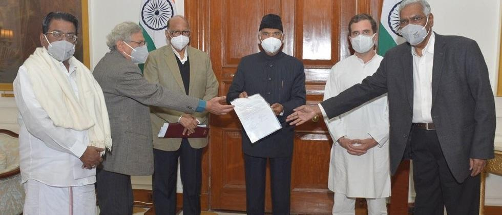 delegation meets president over farmers agitation