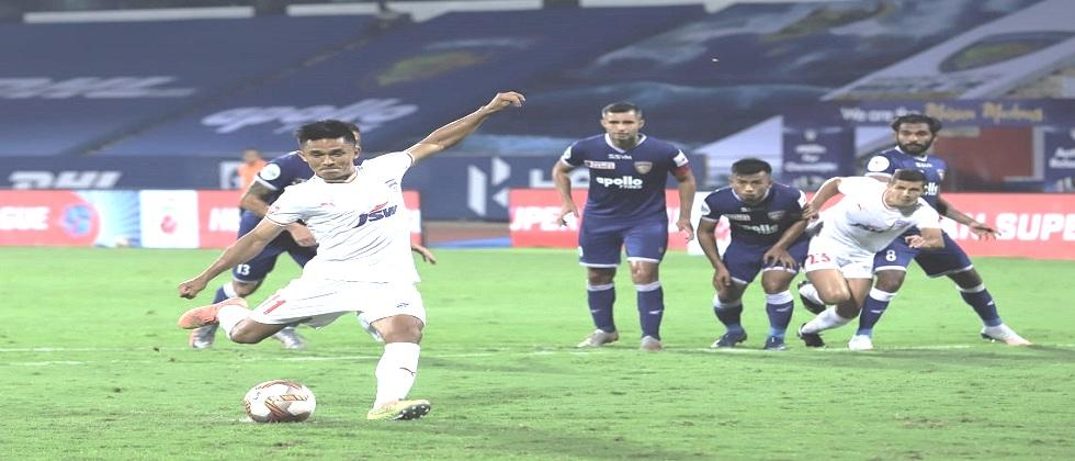 Banglore earns the full 3 points in ISL 2020 for the first time by beating Chennaiyin FC yesterday