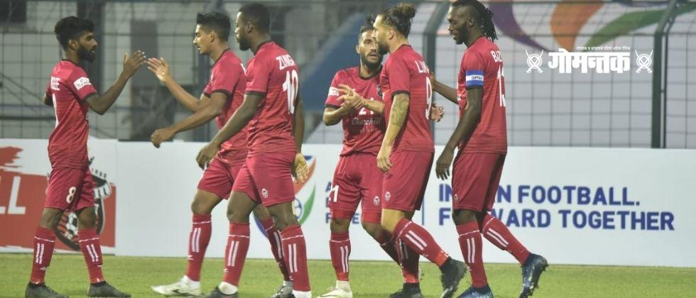 Churchill Brothers to beat Punjab FC in I-League football tournament