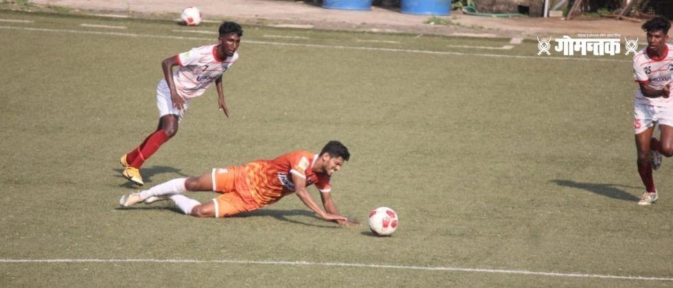 FC Goa easily defeated Youth Club Manora by two goals