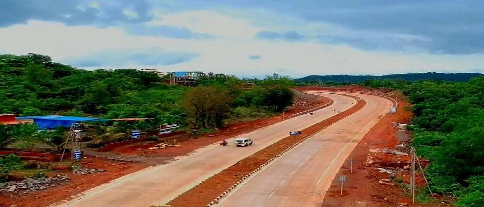 The four laning of Mumbai Goa National Highway is expected to be completed by March 2021