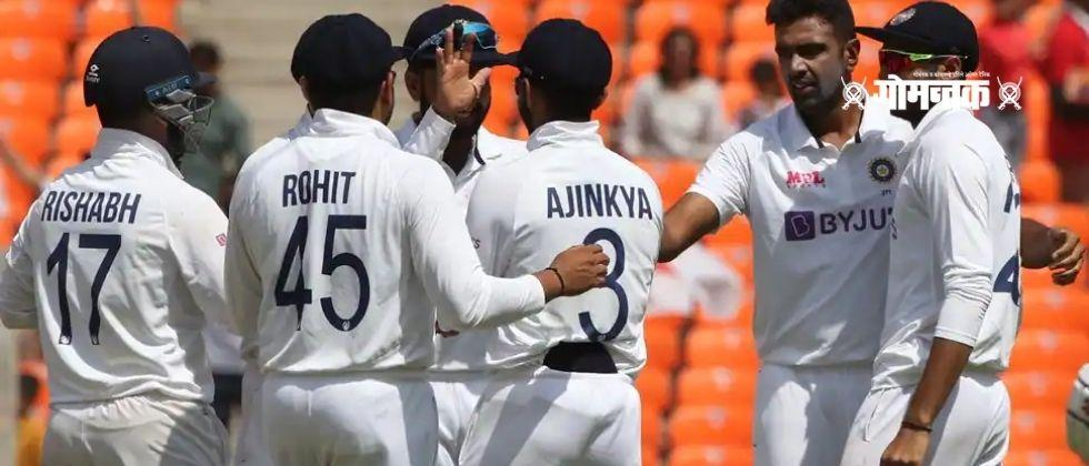 Ind vs Eng England thrashed in the fourth Test