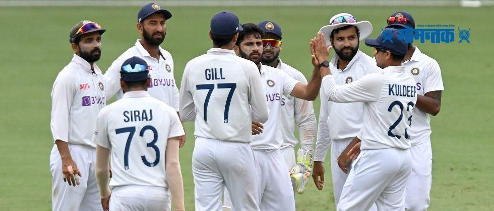 India Vs Australia India need 328 runs to win the 4th test match as well as the test series