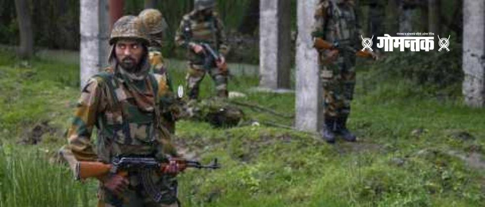 Outstanding performance of Indian soldiers Four terrorists killed