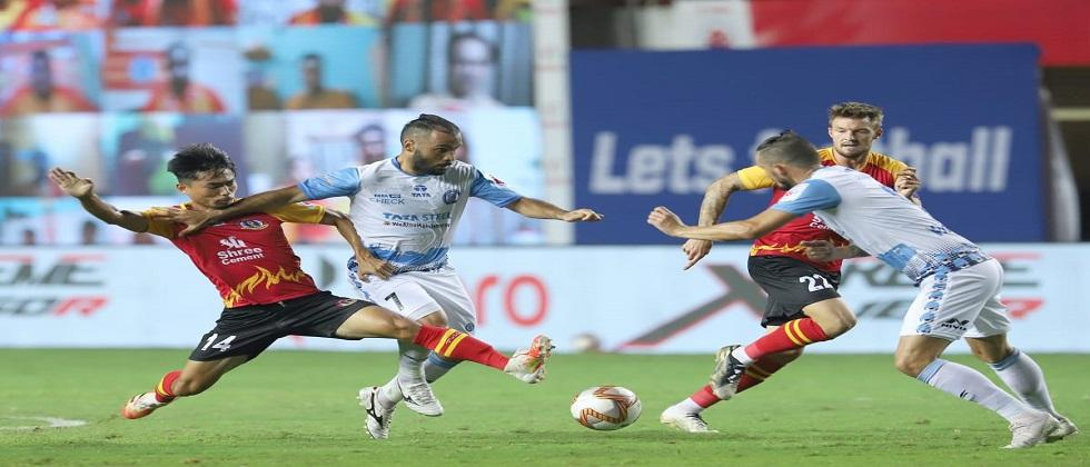 East Bengal FC succeed to tie up Indian Super League match with Jamshedpur FC by 0 goals